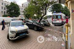 В Киеве женщина с 3-летним ребенком выпали из окна