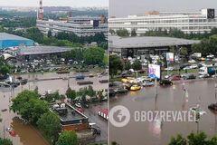 Москву затопило