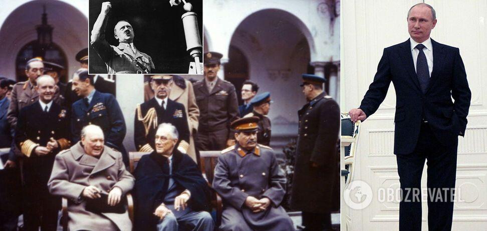 'Сталін не зустрічався з Гітлером, а війна розв'язалася через Польщу': історики викрили фейки Путіна
