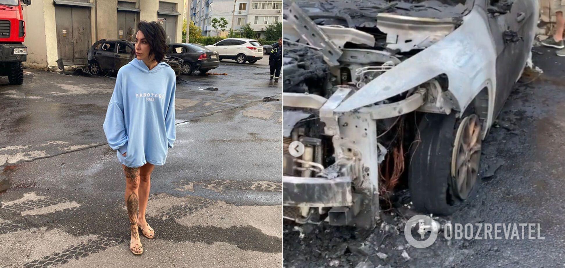 В Харькове подожгли авто Татьяны Коряк