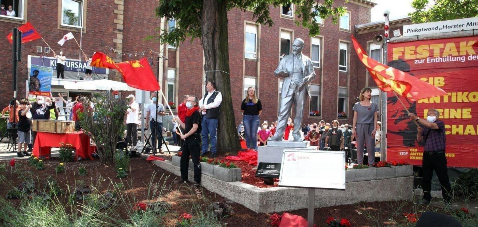 У Німеччині встановили пам'ятник Леніну. Фото