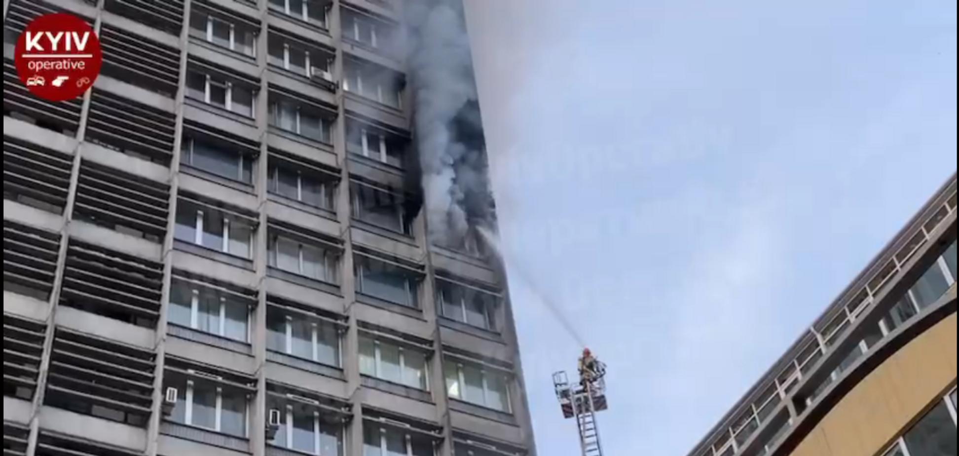 Пожежа в 'Київпроекті'