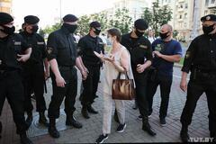 Задержания во время протестов в Беларуси