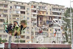 Очевидці вибуху газу в Києві поділилися подробицями