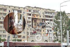 З'явилися фото зсередини багатоповерхівки, що вибухнула в Києві