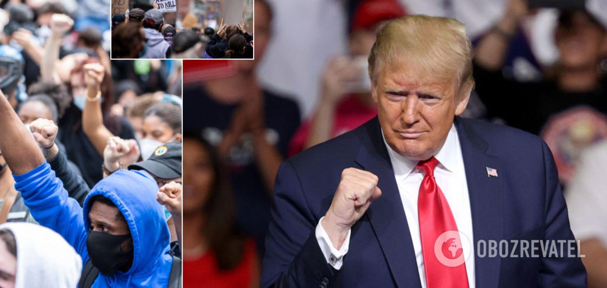 Американський Майдан крізь путінські окуляри