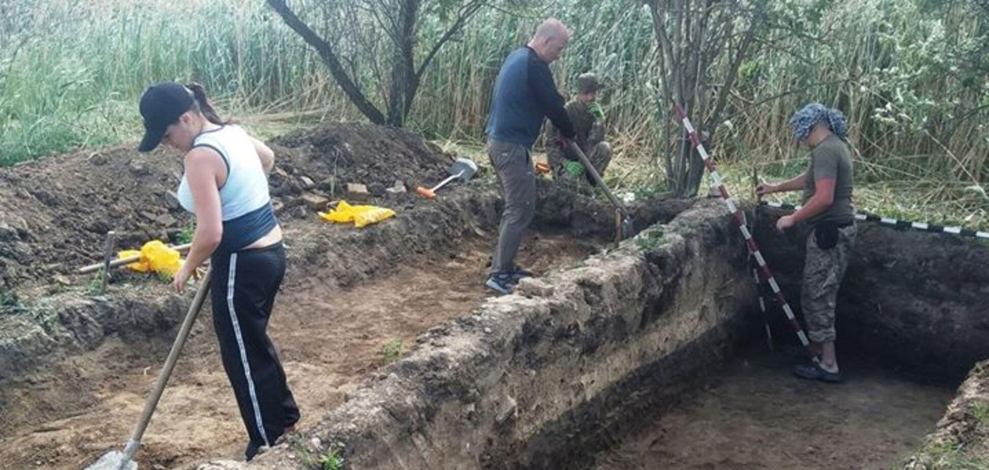 Під Дніпром археологи знайшли стародавнє місто. Фото знахідки