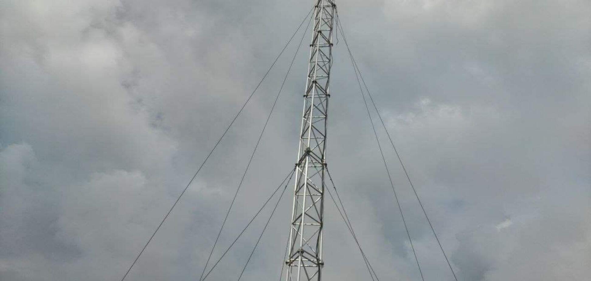 Камера миссии ОБСЕ была установлена на вышке