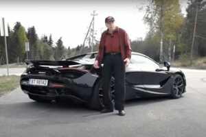 78-річний дідусь щодня їздить на суперкарі за $400 000