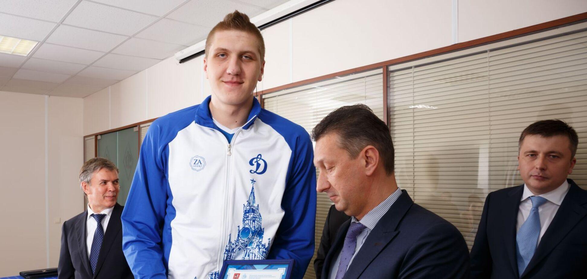 Олександр Кімеров у складі 'Динамо'
