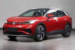 Ожидается, что в таком виде новый кроссовер VW ID.4 отправится на глобальный рынок;