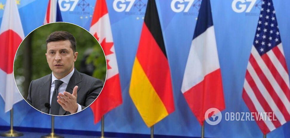 Владимир Зеленский категорически против вступления России в G7