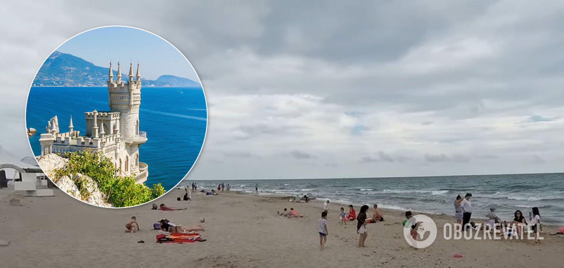 Як виглядає Крим у розпал літа. З'явилося нове відео порожніх пляжів