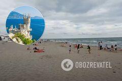 Как выглядит Крым в разгар лета. Появилось свежее видео пустых пляжей