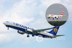 Ryanair і Swiss відновили польоти до України