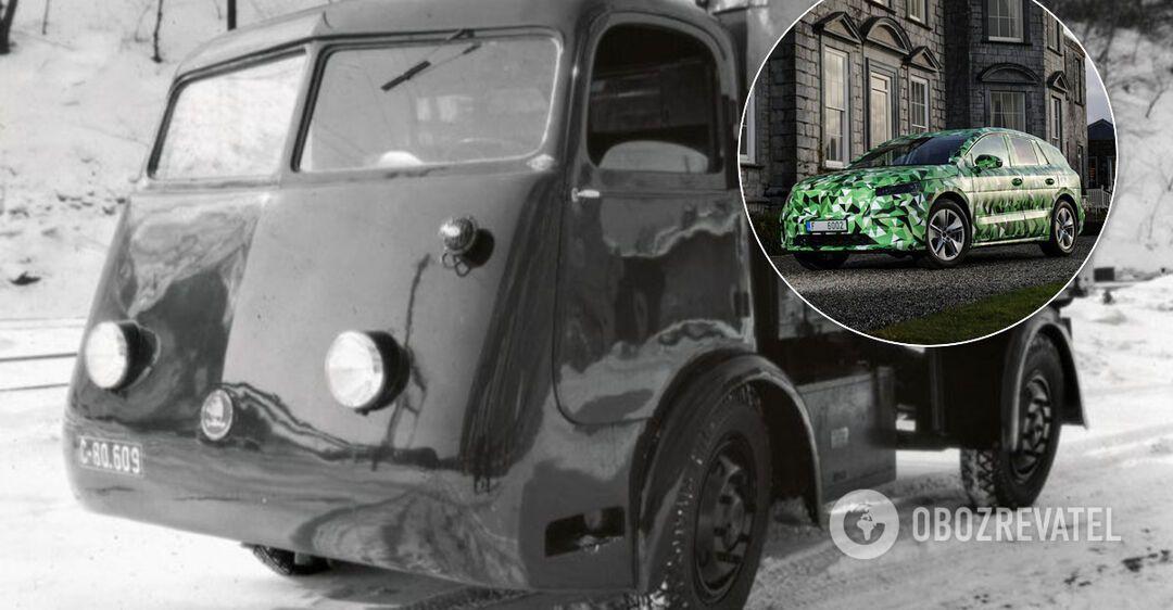 Первый электромобиль Skoda еще в 1939 году развозил пиво