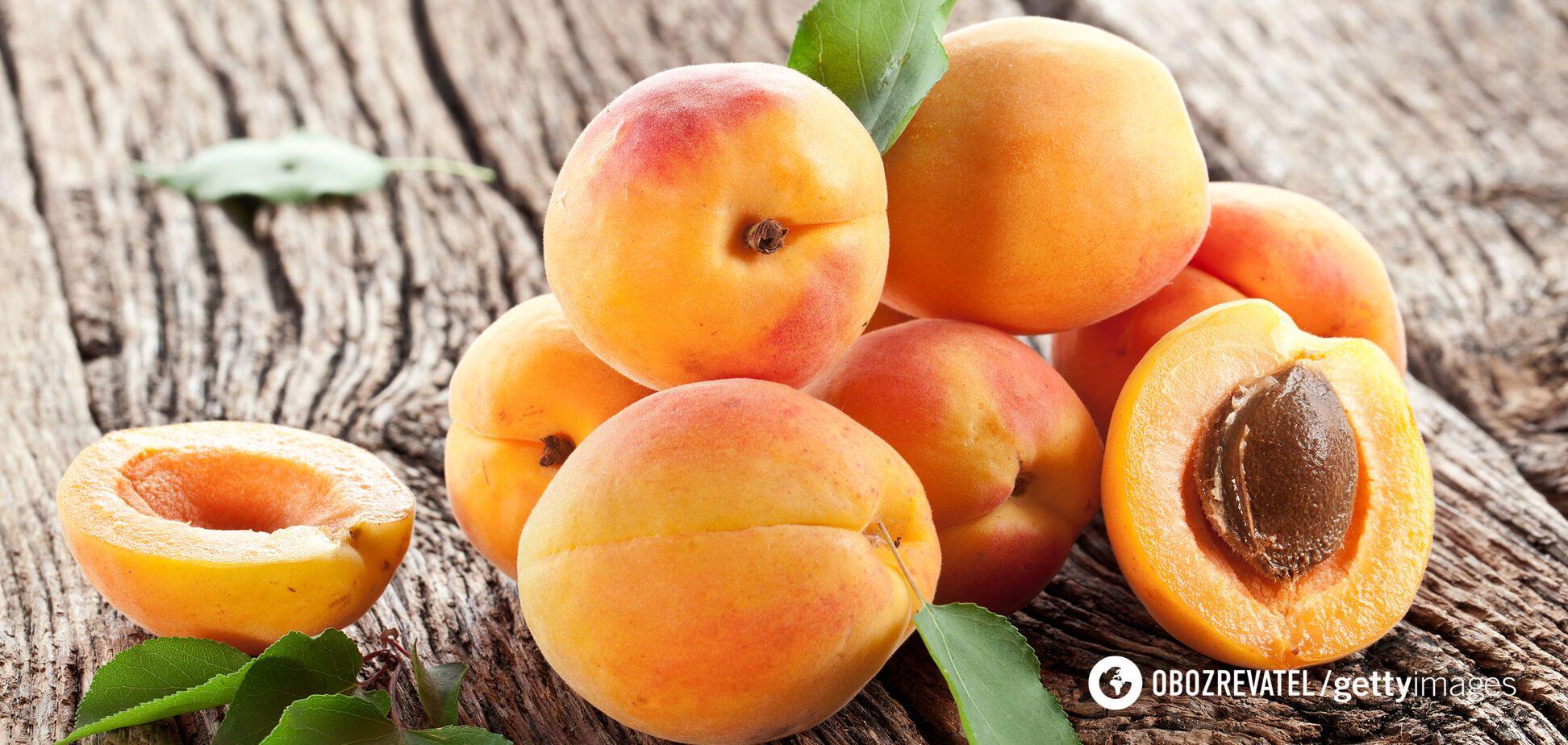 Завдяки калію абрикоси знижують артеріальний тиск