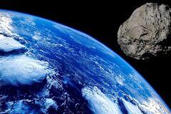 Астероид летит со скоростью 13 километров в секунду