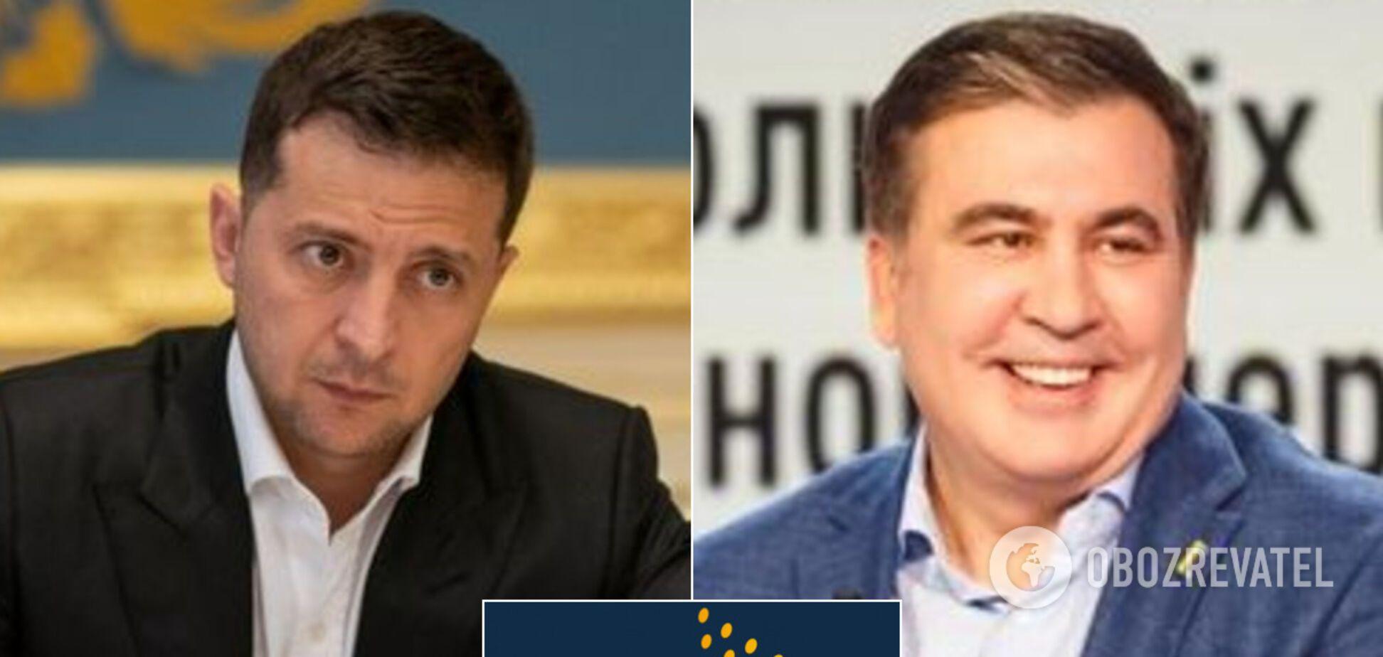 Зеленский и Саакашвили будут работать в Нацсовете реформ
