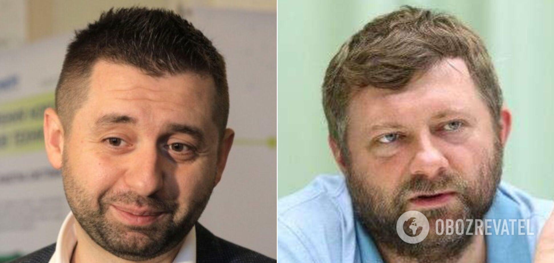 Арахамія та Корнієнко обговорювали колегу по фракції