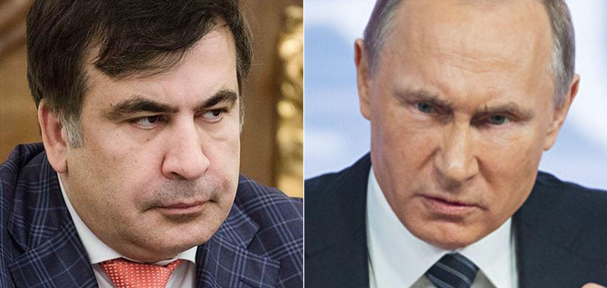 Саакашвілі розповів про розмову з Путіним