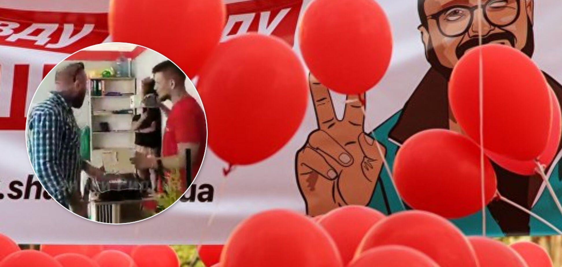 В Житомире избили представителя партии Шария