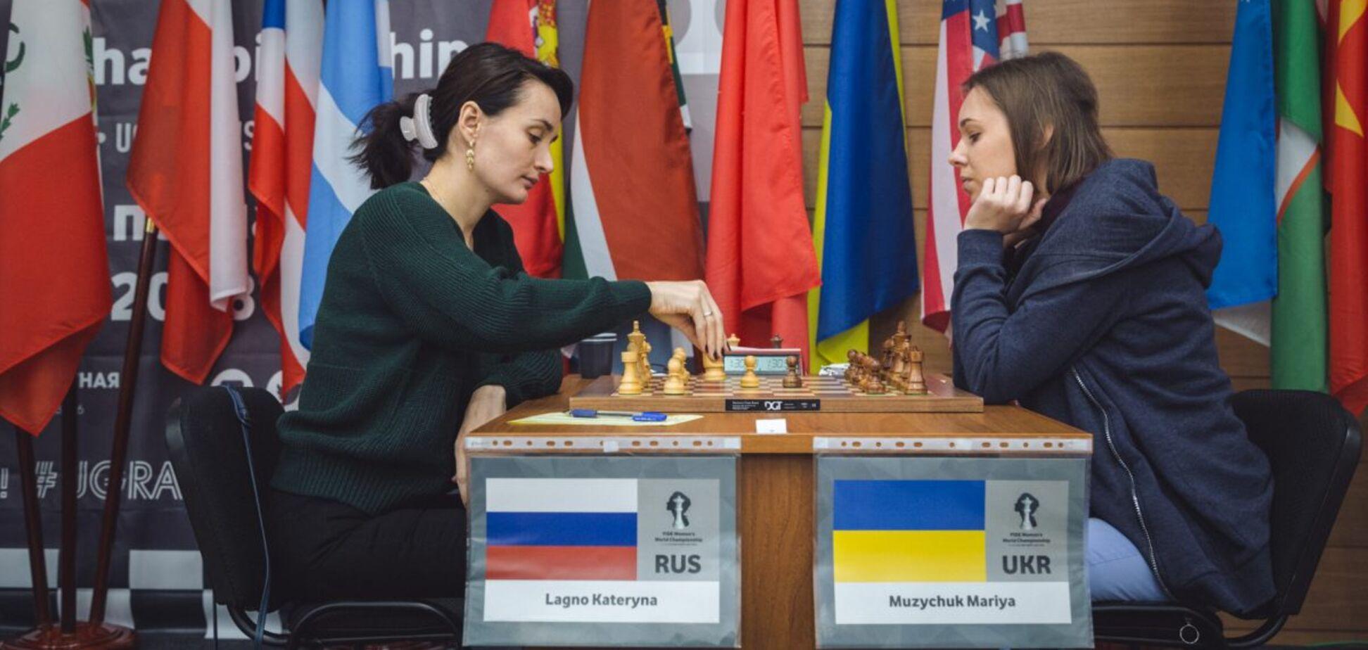 Катерина Лагно проти Анни Музичук