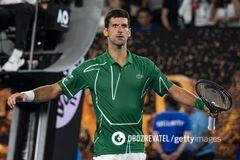 Новак Джокович на Australian Open-2020