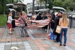 В Киеве обманутые застройщиками вкладчики собрались на акцию протеста