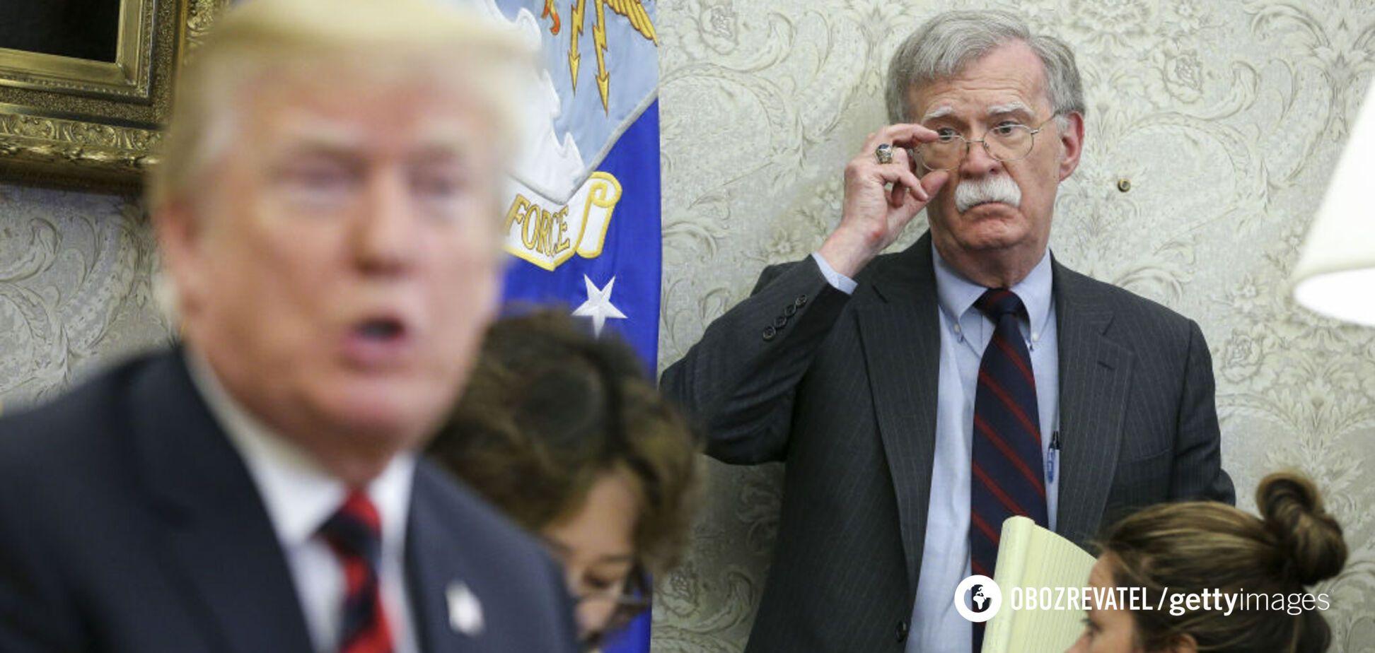 Трамп попросил Болтона позвонить Зеленскому по поводу его разговора с Йованович