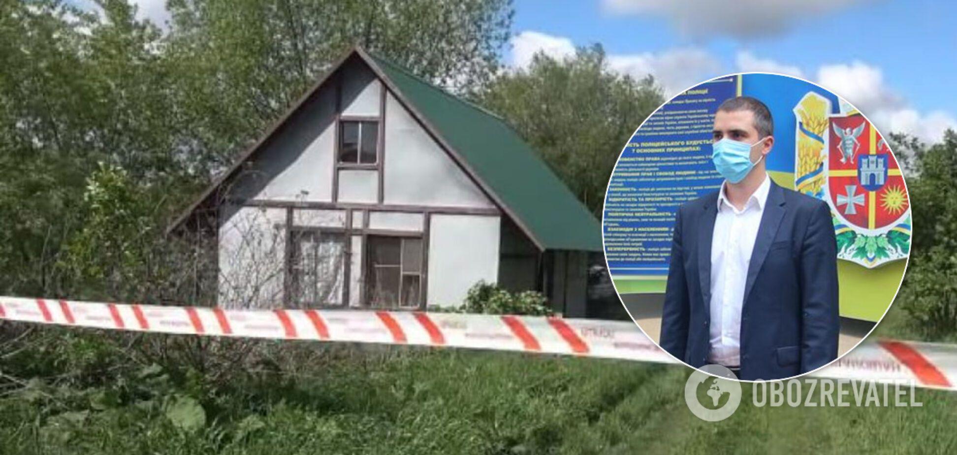 Дом, где произошло массовое убийство на Житомирщине