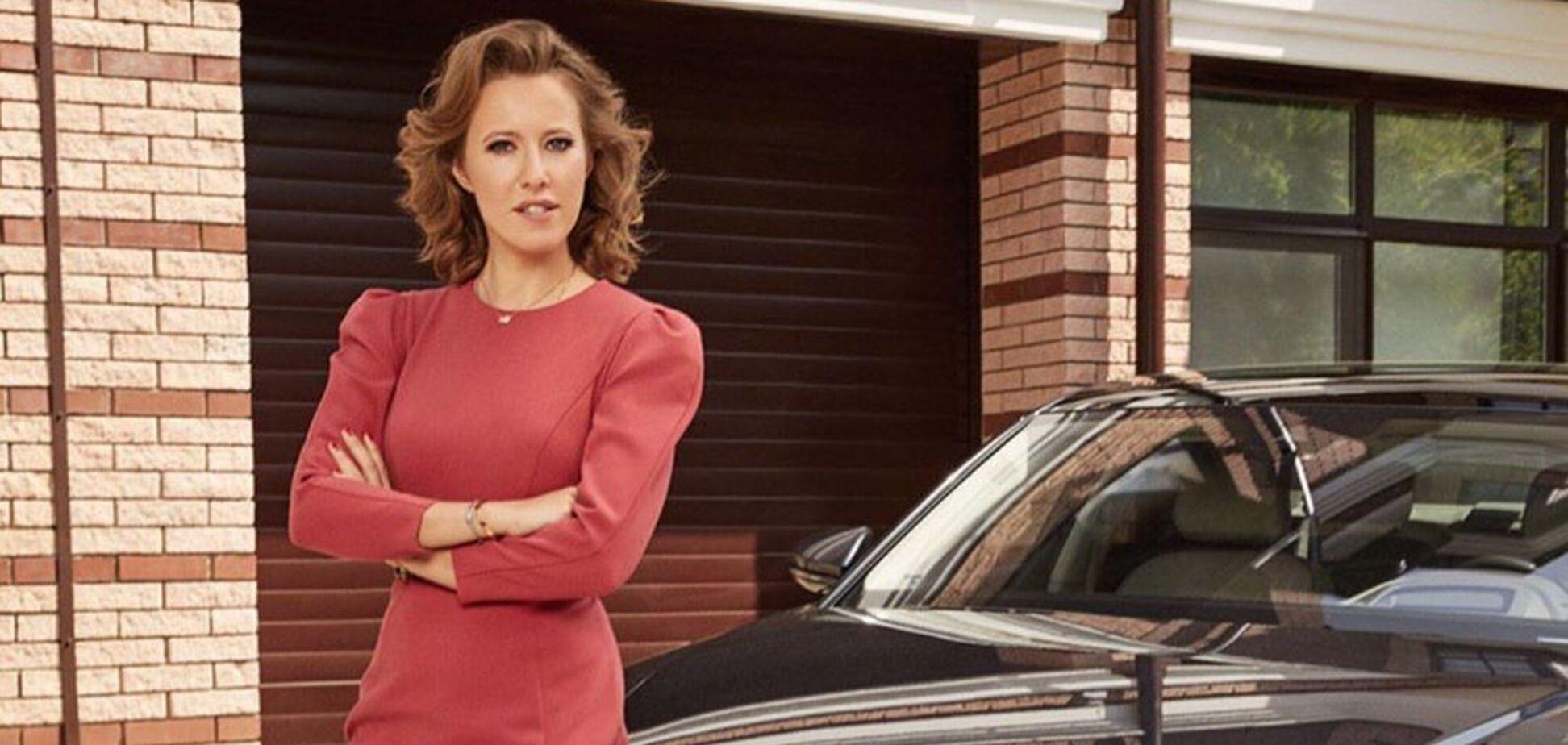 Audi розірвала контракт з Собчак