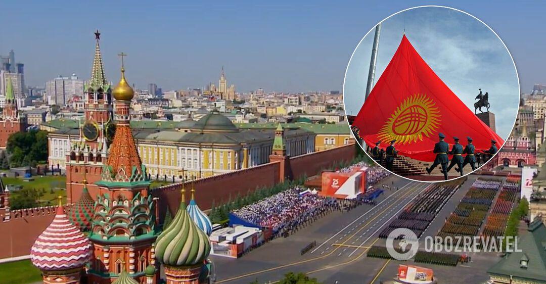 Делегація Киргизстану привезла на парад до Москви COVID-19