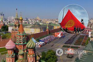 Делегация Кыргызстана привезла на парад в Москву COVID-19