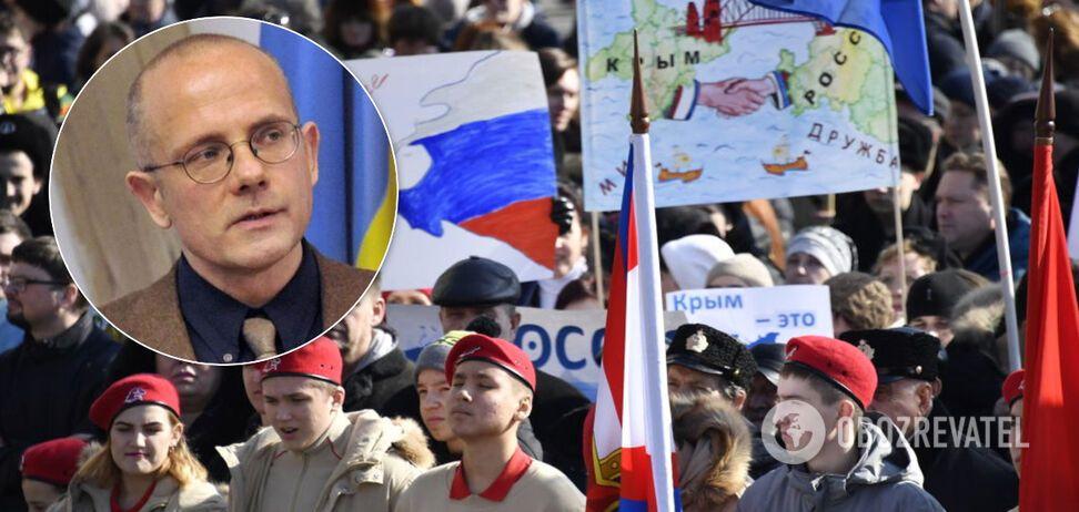 Політолог Андреас Умланд заявив, що у РФ і Криму майже немає історичних зв'язків