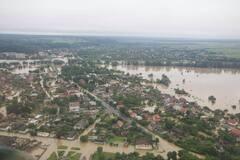 Последствия наводнения на западе Украины