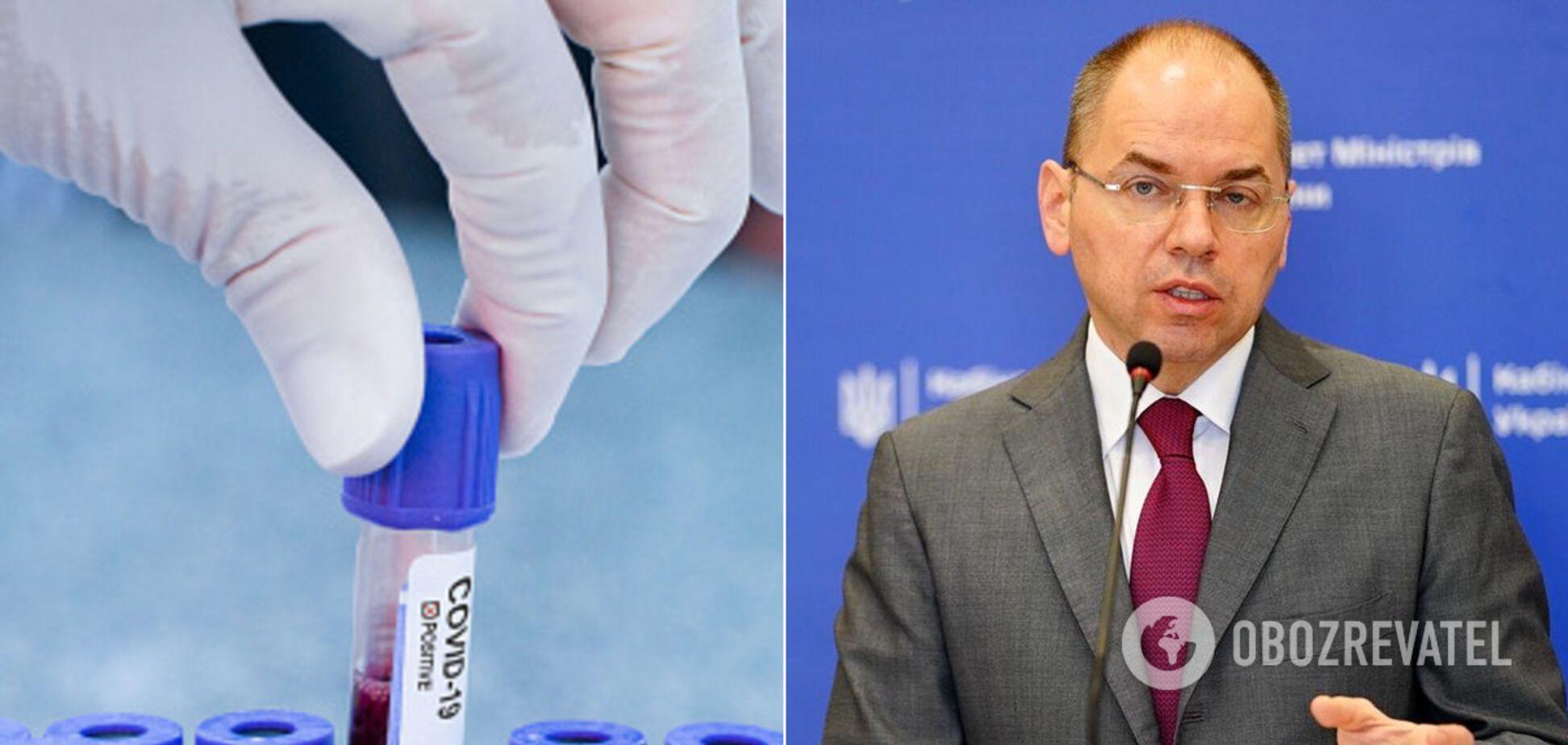 Максим Степанов озвучив статистику щодо коронавірусу в Україні