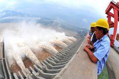 Плотина'Три ущелья' в Китае