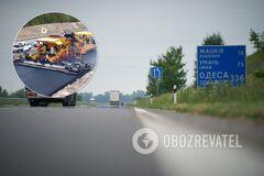 Часть трассы Киев – Одесса открыли после ремонта. Фото