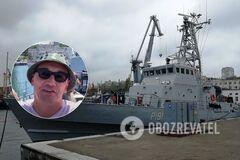 Одесский блогер проник на корабли ВМС Украины