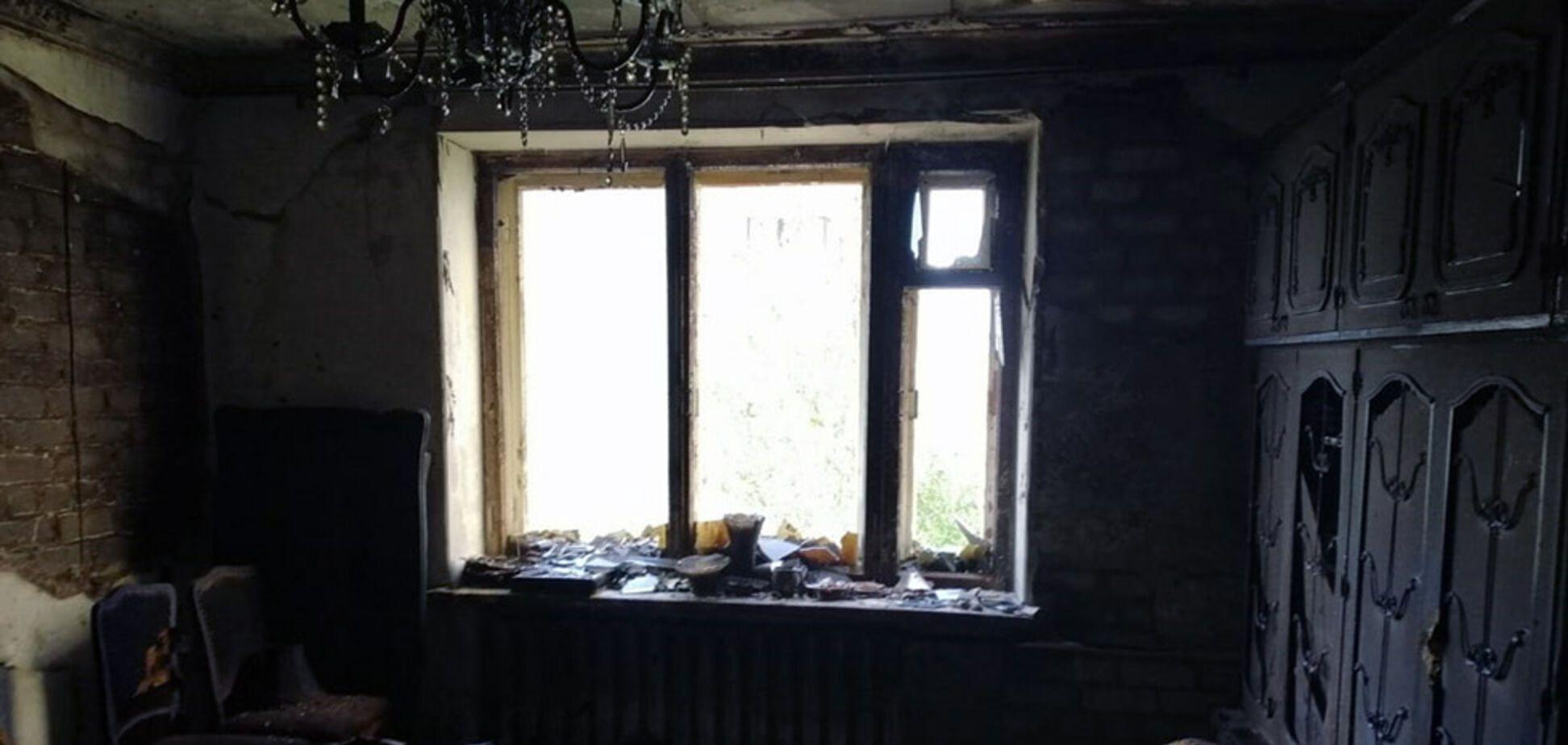 В Днепре женщина погибла при пожаре в многоэтажке. Фото с места ЧП