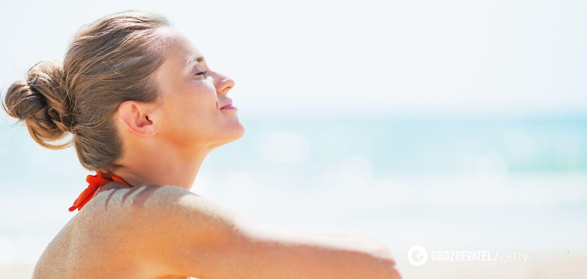 Здорове харчування допомагає підготувати шкіру до ідеальної засмаги
