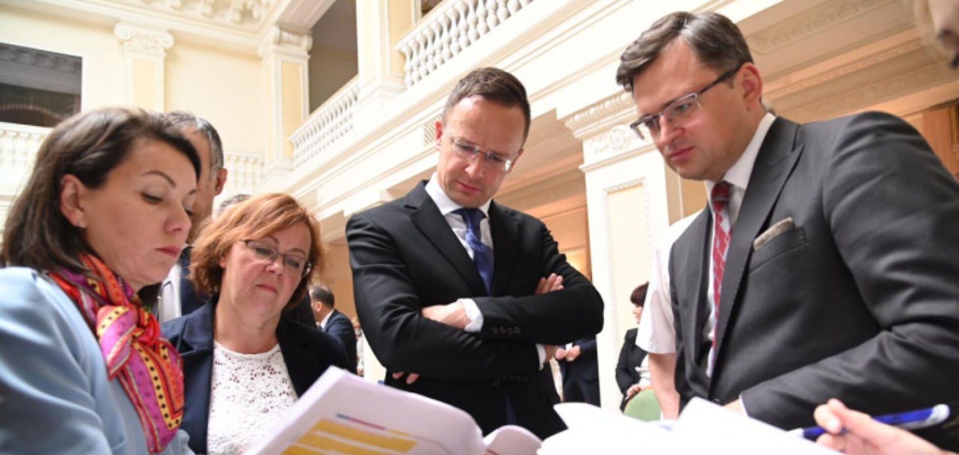 Вперше за 7 років делегація Угорщини прибула на переговори з Україною
