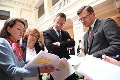 Впервые за 7 лет делегация Венгрии прибыла на переговоры с Украиной