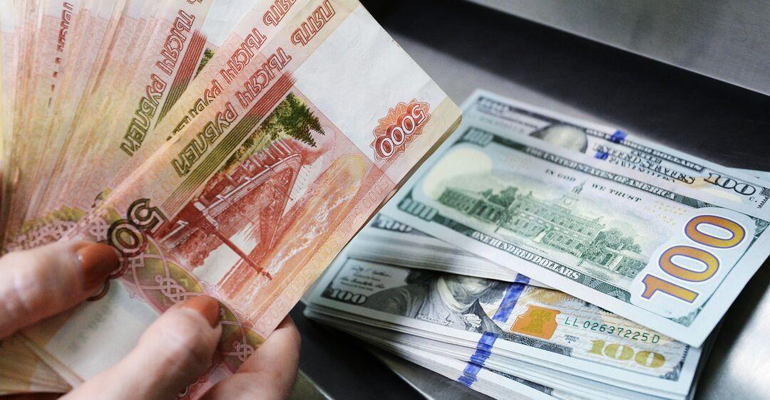 В России сильно упал курс рубля: график