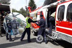 Вертолеты базируются на аэродроме Ивано-Франковска