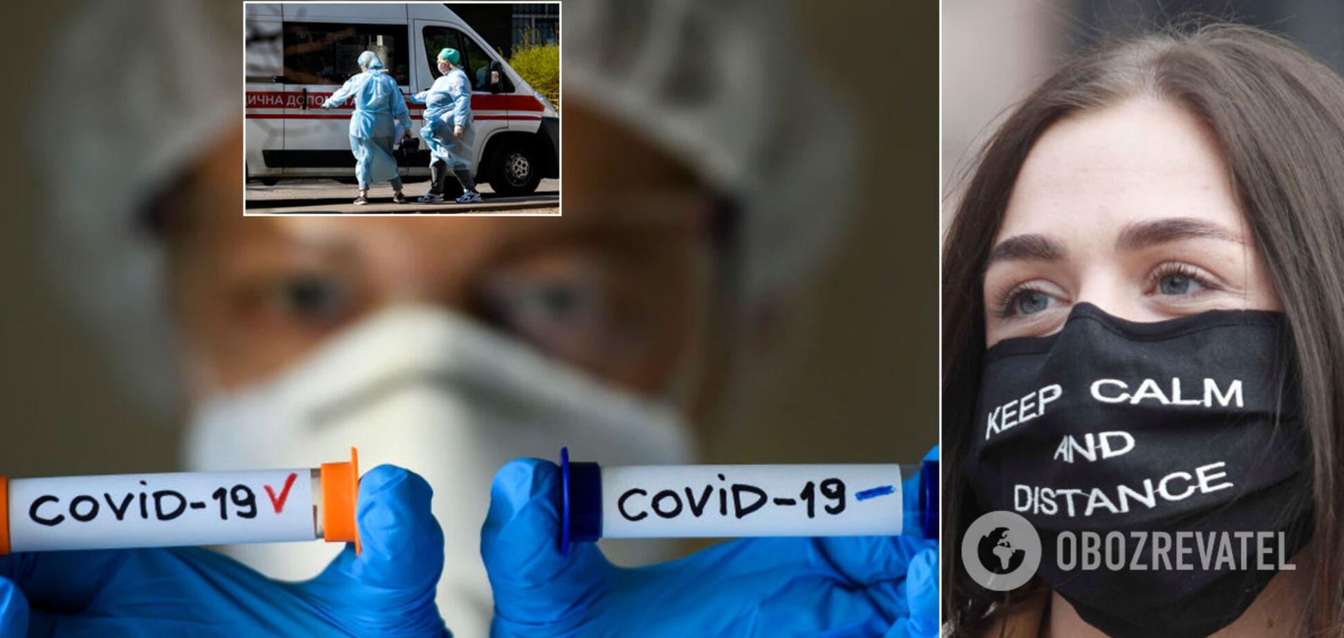 В Украине COVID-19 могут болеть уже 400 тыс., осенью к коронавирусу добавится грипп, – эпидемиолог