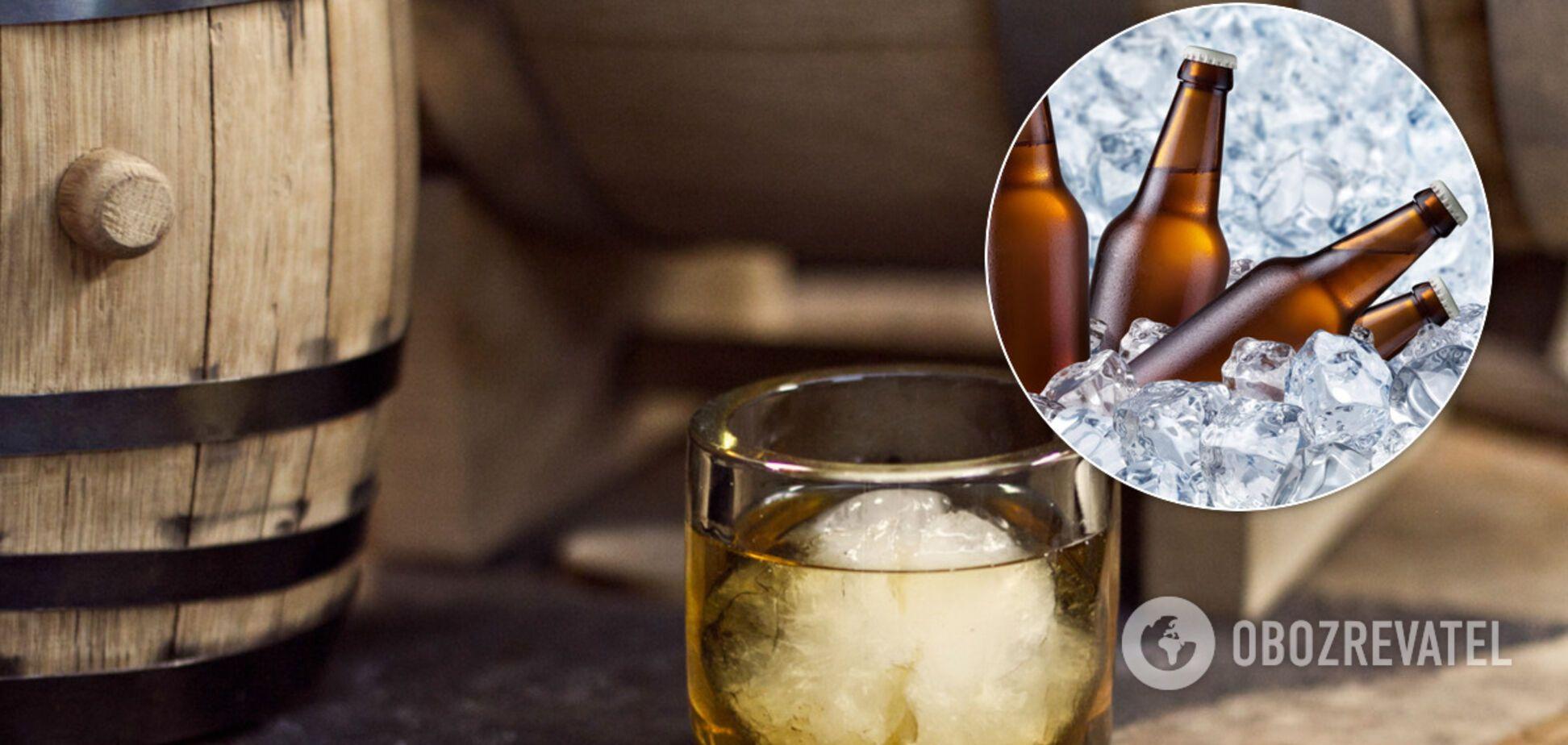 Как быстро охладить алкоголь: названы простые способы