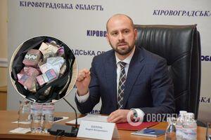 Ексглаву Кіровоградської ОДА Андрія Балоня заарештовано