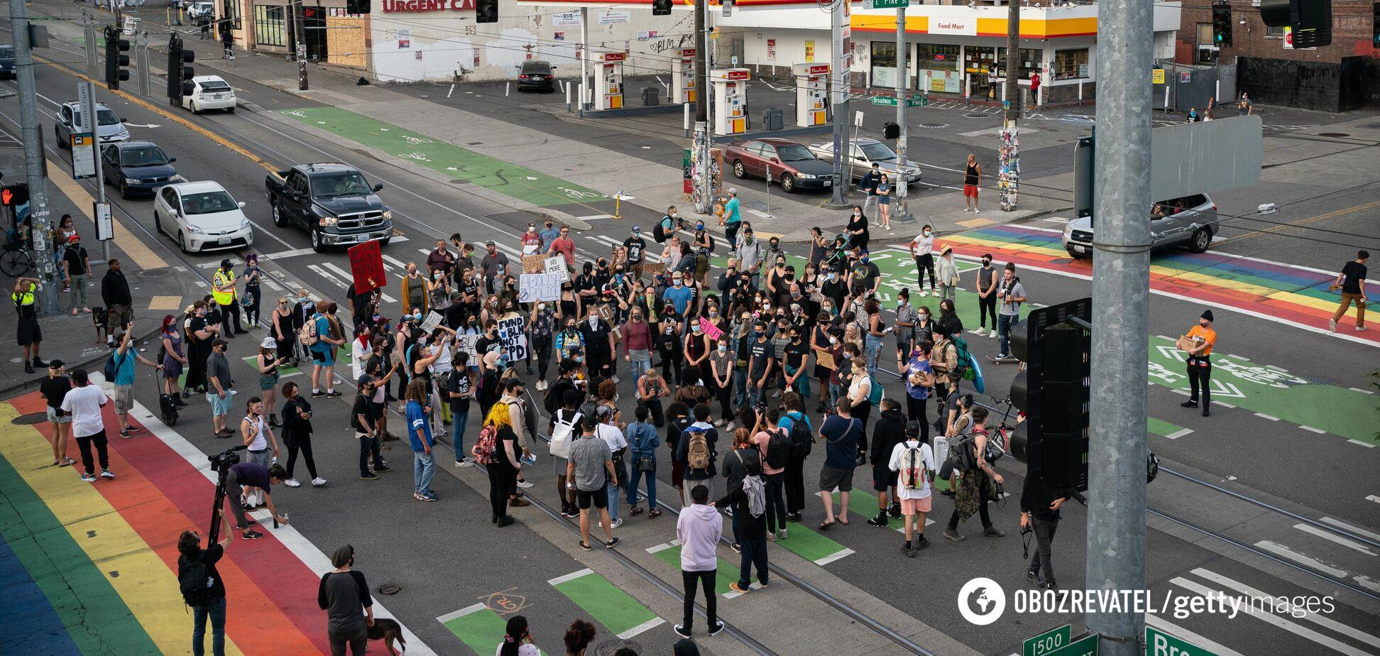 Протестуючі покинули 'автономію' в Сіетлі